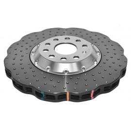 Σετ Δισκόπλακες της DBA Σειρά 5000 Τρυπητές/Χαρακτές Διαιρούμενες 345x30mm για Audi, Seat, Skoda, VW