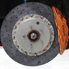Σετ δίσκοι carbon-ceramic εμπρός της ST για Nissan GTR R35 (excl. Spec V) 2008-2010