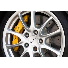 Σετ δίσκοι carbon-ceramic εμπρός της ST για Porsche 991 GT3/GT3 RS (κίτρινες δαγκάνες)