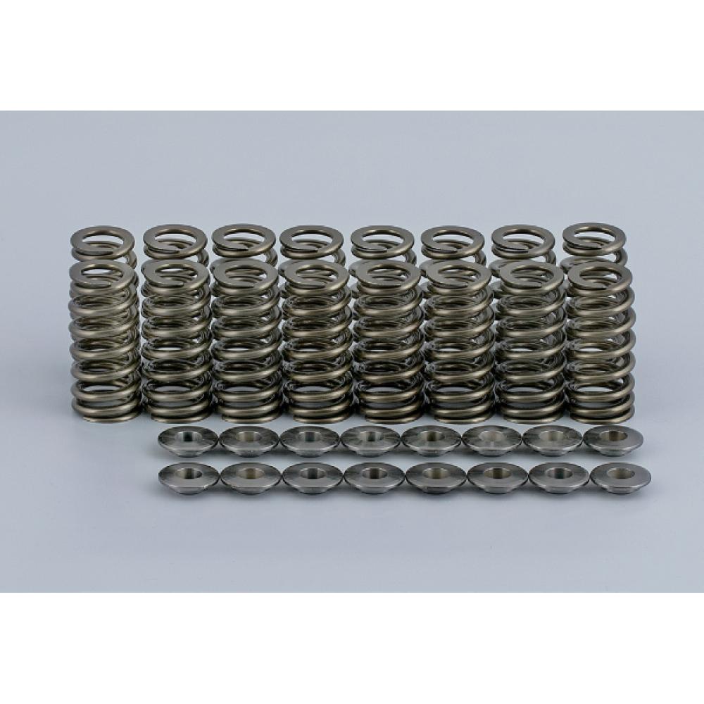 Σετ ελατήρια και Titanium Retainers της Loba Motorsport (16τμχ) για VAG 4 Cyl 1.8/2.0 TSi/TFSi EA113/EA888 (7010200)