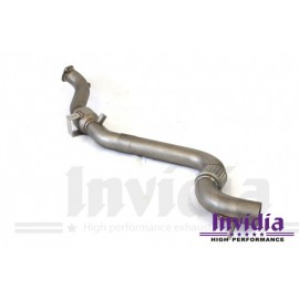 Down Pipe με αγωνιστικό καταλύτη της Invidia για Ford Mustang Ecoboost 2.3L
