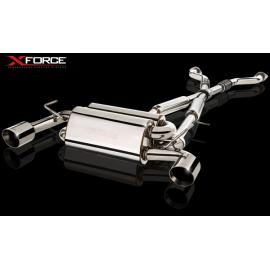 Εξάτμιση από καταλύτη και πίσω της XForce για Nissan 350Z 03-09 63mm