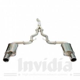 Εξάτμιση από καταλύτη και πίσω της Invidia για Ford Mustang Eco-Boost 2.3L