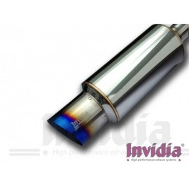 Τελικό εξάτμισης της Invidia με Titanium Tip