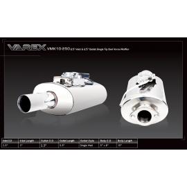 Τελικό εξάτμισης Varex 63.5mm της XForce με βαλβίδα για ρύθμιση θορύβου