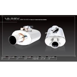 Τελικό εξάτμισης Varex 102mm της XForce με βαλβίδα για ρύθμιση θορύβου