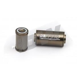 Φίλτρο αντλίας βενζίνης της Deatschwerks 110mm / 100 micron - 8 AN
