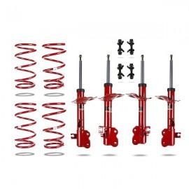 Κιτ αμορτισέρ και ελατήρια της Pedders για ανύψωση 4.50cms για Nissan X-Trail T30 01-09