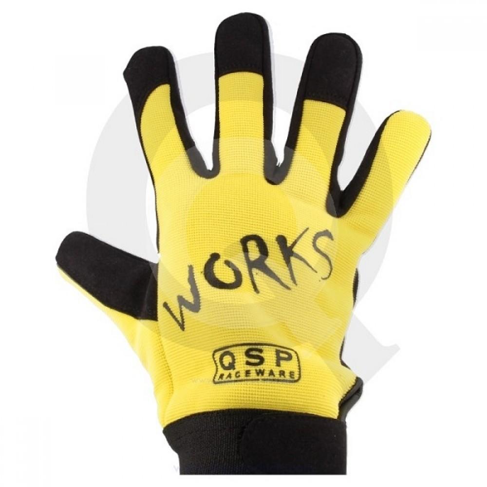 Γάντια Μηχανικού της QSP Κίτρινα