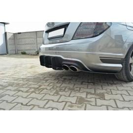 Διαχύτης πίσω της E.T.S. για Mercedes C W204 AMG Facelift πλαστικός