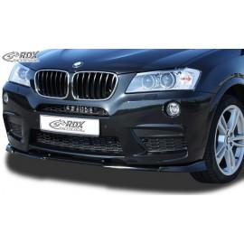 Εμπρός Spoiler της RDX για BMW X3 F25 M-Technic -2014