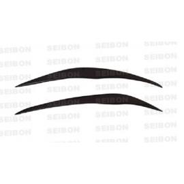 Carbon φρυδάκια φανών της Seibon για Honda Civic Type R EP3